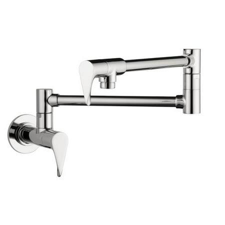 Axor Axor Citterio Double Handle Wall Mounted Pot Filler Faucet
