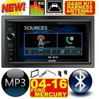 product image fits 04-16 f & e series jensen am/fm usb/bluetooth touchscreen