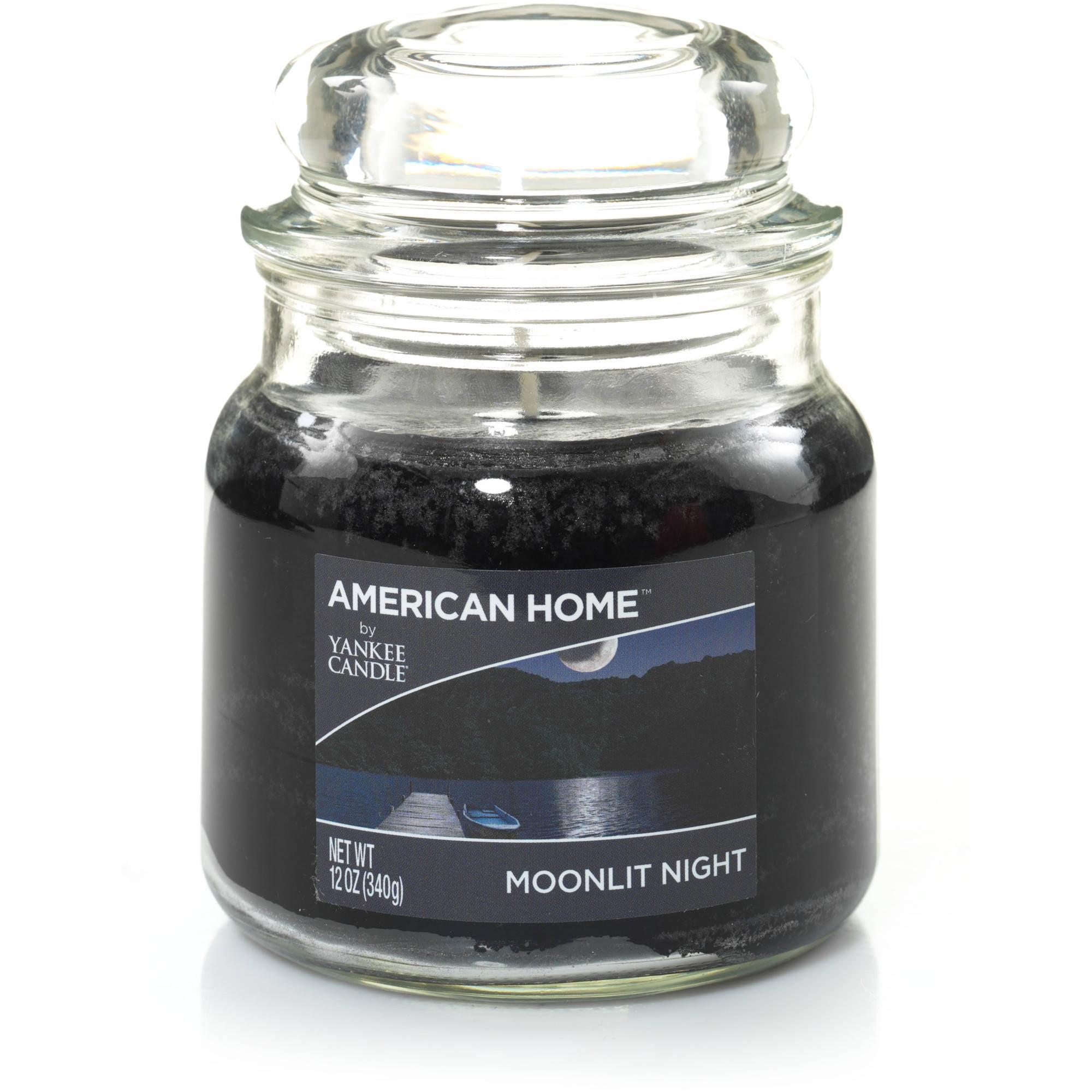 American Home by Yankee Candle Moonlit Night, 12 oz Medium Jar