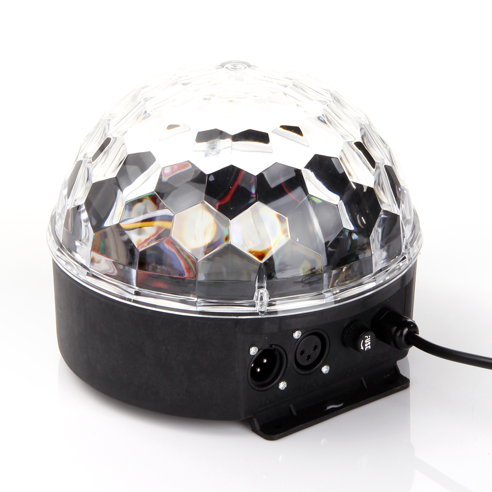 ANNT DMX512 LED RGB Crystal Magic Ball Effect light Disco DJ Stage Light for KTV Party Garden Club Pub Bar Wedding Show... by