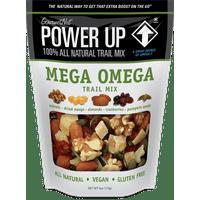 Power Up, Mega Omega Trail Mix, 4oz