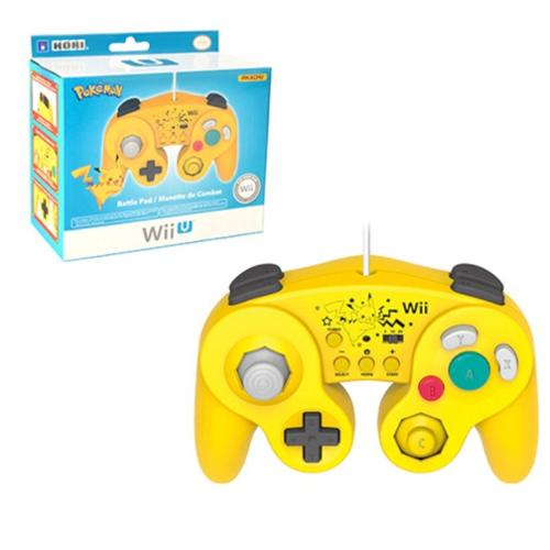 Pikachu Classic Controller Wired Controller For Nintendo Wii/Wii U