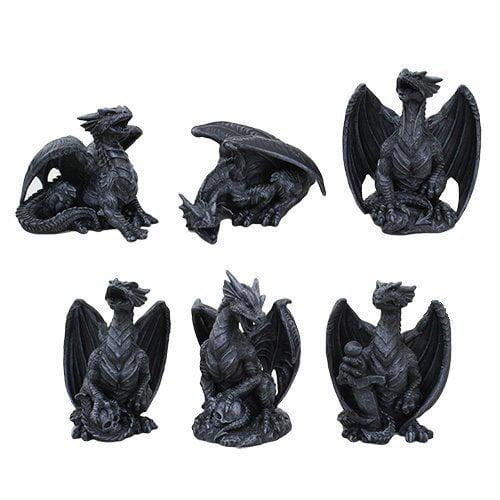 Ptc Group 4 Inch Miniature Gargoyle Dragons Statue Figuri...
