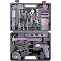 Hyper Tough 44-Piece Home Repair Tool Kit In Blow Mold Case