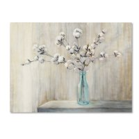 Trademark Fine Art 'Cotton Bouquet' Canvas Art by Julia Purinton