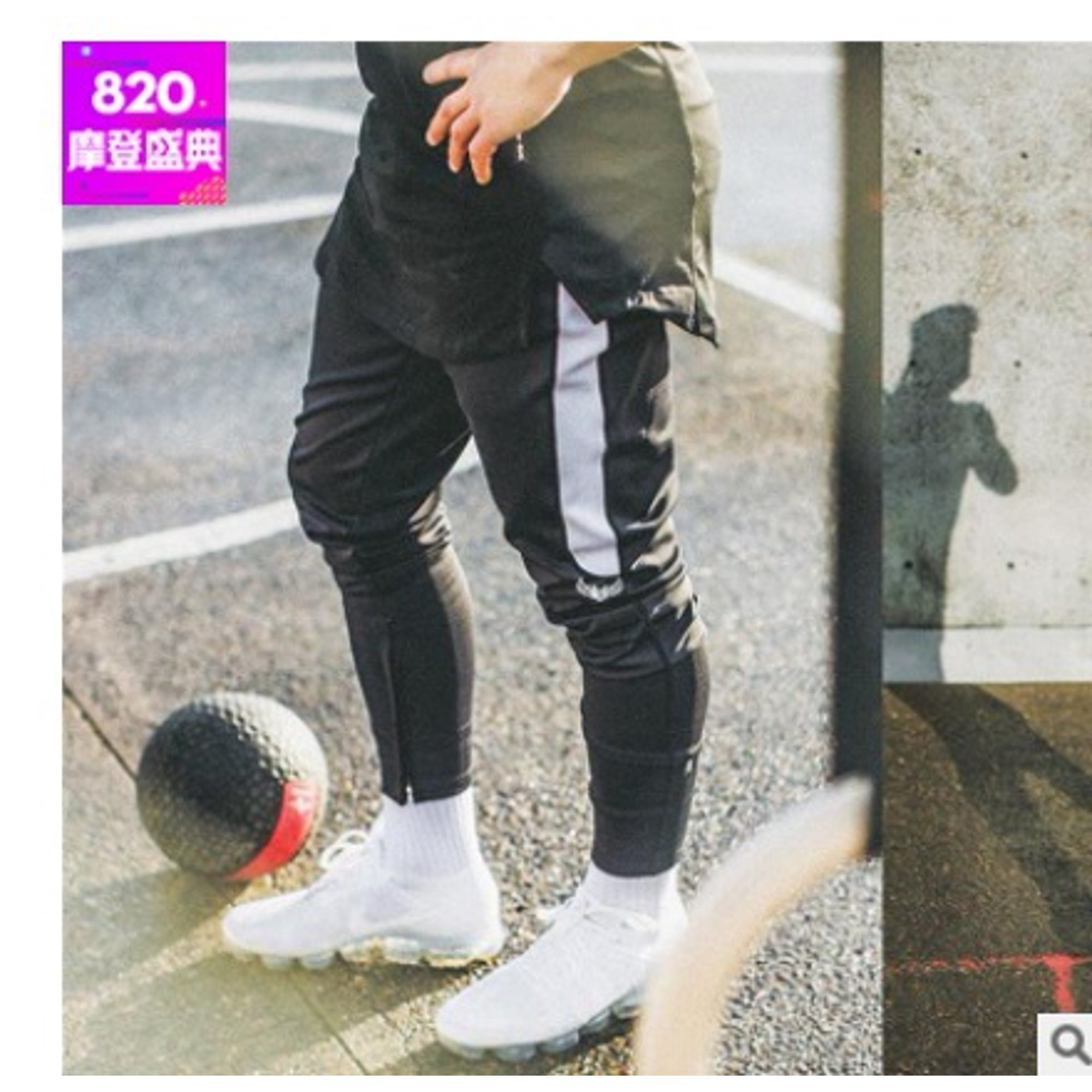 Sell Well Mens Jogger Pants Fashion Sports Joggers Gym Workout Hip Pop Casual Zipper Pants Walmart Canada