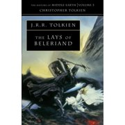 The Lays of Beleriand (The History of Middle-earth, Book 3) (Paperback)