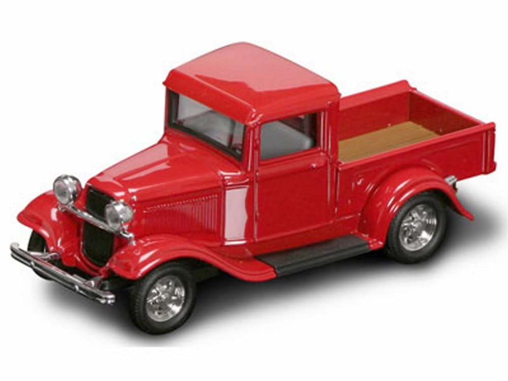 1934 Ford Pickup Truck, Red Yatming 94232 1 43 Scale Diecast Model Toy Car by Yat Ming