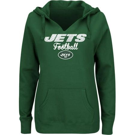 NFL New York Jets Ladies Fleece Hoodie by