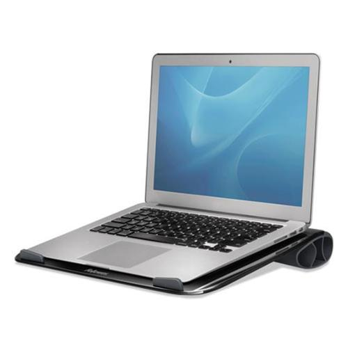 Fellowes Manufacturing 9473101 I-Spire Series Laptop Lapdesk, Black & Gray - 11. 37 x 15 x 1. 87 inch