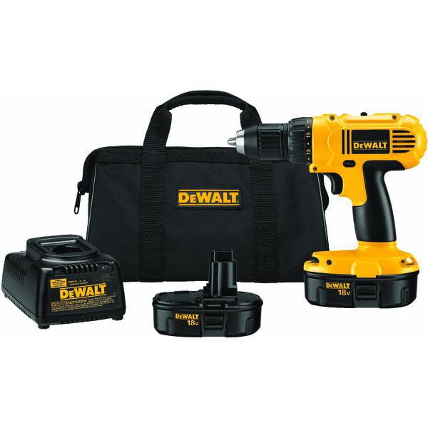 DeWalt 18V NiCd Cordless Drill Kit