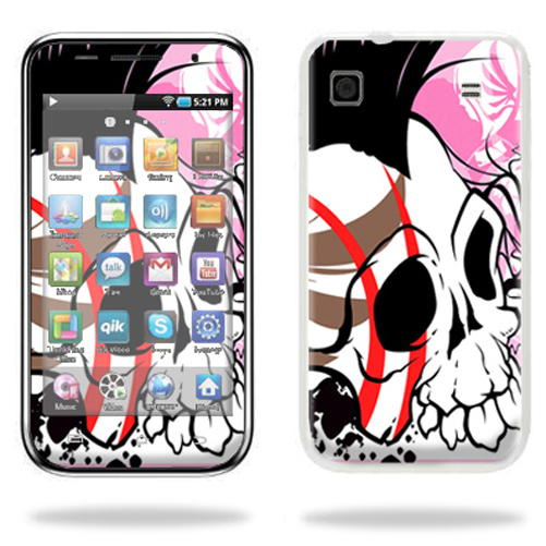 Mightyskins Protective Vinyl Skin Decal Cover for Samsung Galaxy Player 4.0 MP3 Player wrap sticker skins Skull Hawk
