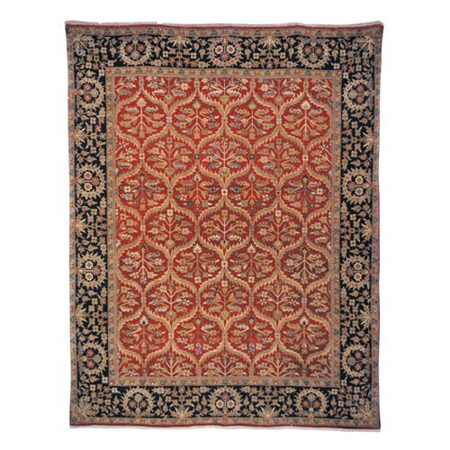 Safavieh Old World OW119A Area Rug - Red/Navy