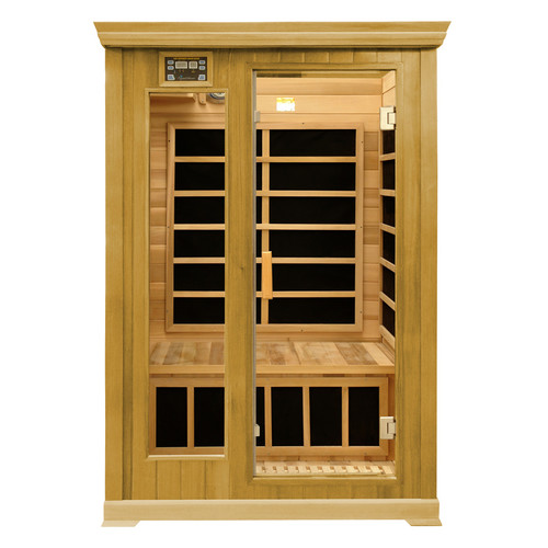 Crystal Sauna Luxury Series 2 Person FAR Infrared Sauna by Crystal Sauna