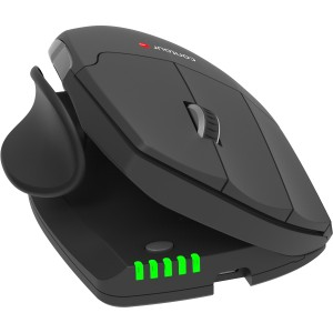 Contour Unimouse Mouse PixArt PMW3330 Left Handed Wireless Mouse