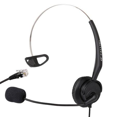 Telephone Headset for Avaya 9608 9610 9611 9611G SNOM 320 360 370 720 760 Panasonic KX-T7433 KX-T7625 KX-T7630 KX-T7633 KX-T7636