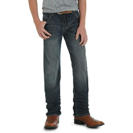 Wrangler Boys' Retro Slim Fit Straight Leg Jean, Jerome, 7 Reg
