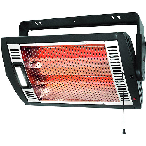 Optimus Electric Garage/Shop Ceiling or Wall-Mount Utility Heater,  HEOP9010