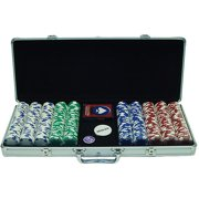 Trademark Poker 500pc 11.5g Hold Em Chips with Aluminum Case