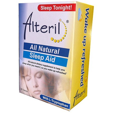 Alteril All Natural Sleep Aid With L-Tryptophan - 60 CT
