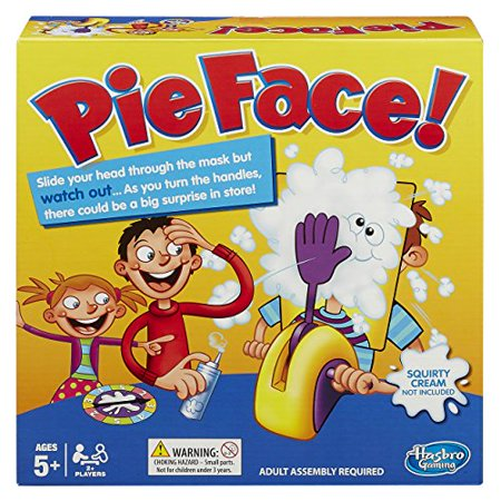Playset Pie Face Game for Kids Age 5+ Cultivates Reaction & Attention - Chemical Reaction Games