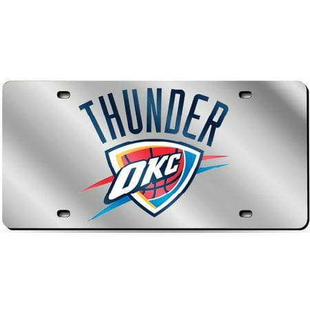 Oklahoma City Thunder Laser Plate - image 1 of 1