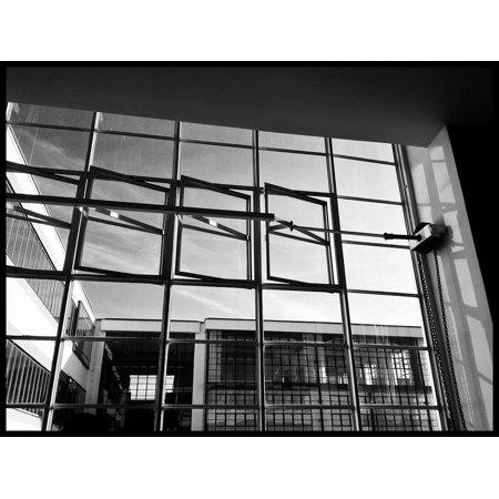 Framed Art For Your Wall Windows Architecture Germany Dessau Bauhaus 10x13 (Bauhaus Art Deco)