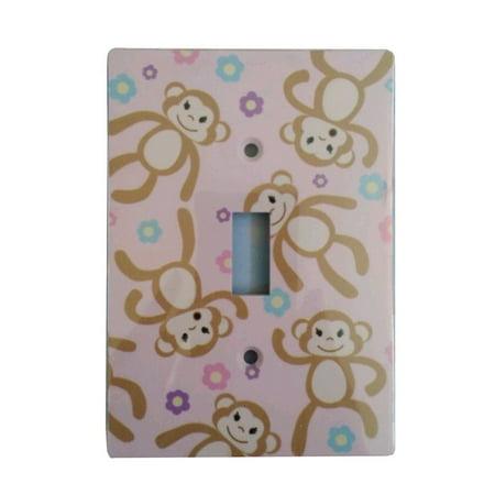 - Monkeys Single Toggle Light Switch Cover, Wallplate By Jasco
