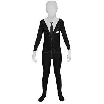 Slenderman Kids Morphsuit Costume