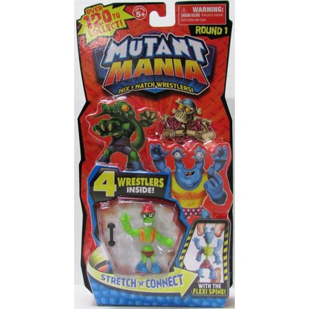 Mutant Mania, Round 1 Figures, 4-Pack (Characters May Vary), Contains 4 random Mutant Mania wrestlers. By Moose Toys](Sumo Wrestler Suit)