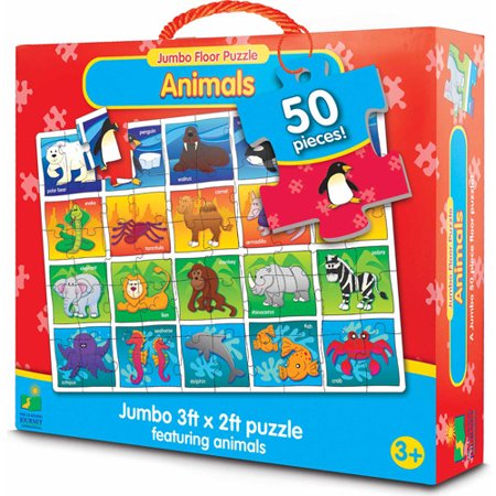 The Learning Journey Jumbo Floor Puzzle Animals