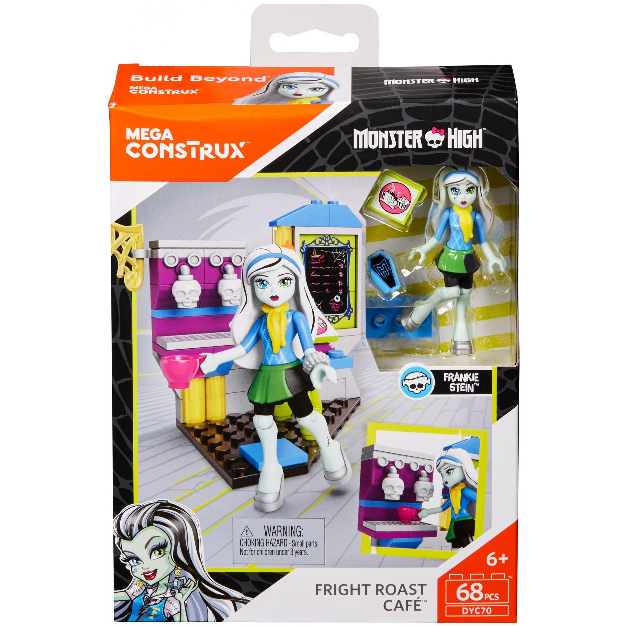 Mega Construx Monster High Fright Roast Cafe by Mattel