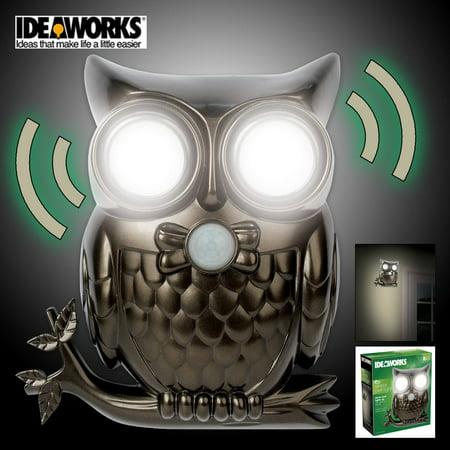 Decorative LED Motion Sensor Hooting Owl Light (Make Your Own Led Grow Light Panel)