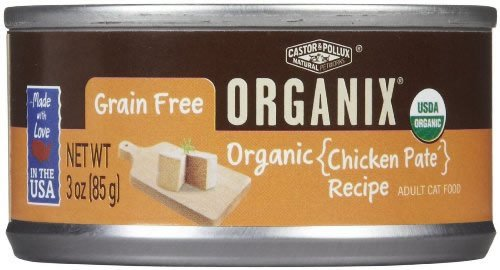 Cat Og2 Chicken Pate Gluten Free 3 0Z (Pack of 24) by Castor & Pollux