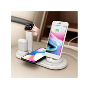 MarinaVida 4 IN 1 Smart Charging Dock Station Stand Holder for Air Pods IPad Apple Watch