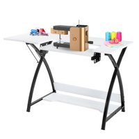 Ktaxon Sew Ready Studio Designs Multipurpose Hobby Sewing Table Folding Computer Desk