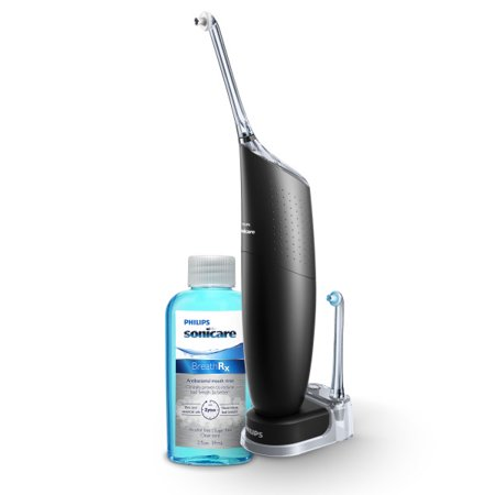 Philips Sonicare Airfloss Ultra, Black, HX8432/13 (Philips Sonicare Airfloss Pro Rechargeable Electric Flosser Pink)