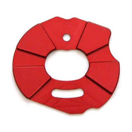 Racing Heatsink (ST Racing ST3691R Aluminum Heatsink Motor Plate Slash/ Rustler/ Stampede- Red)
