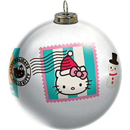 Hello Kitty Ornaments (HELLO KITTY LIGHT UP BALL CARLTON)