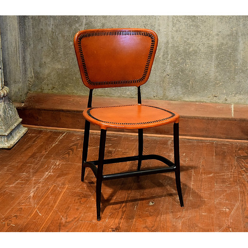 William Sheppee Signature Rocket Genuine Leather Upholstered Dining Chair by William Sheppee