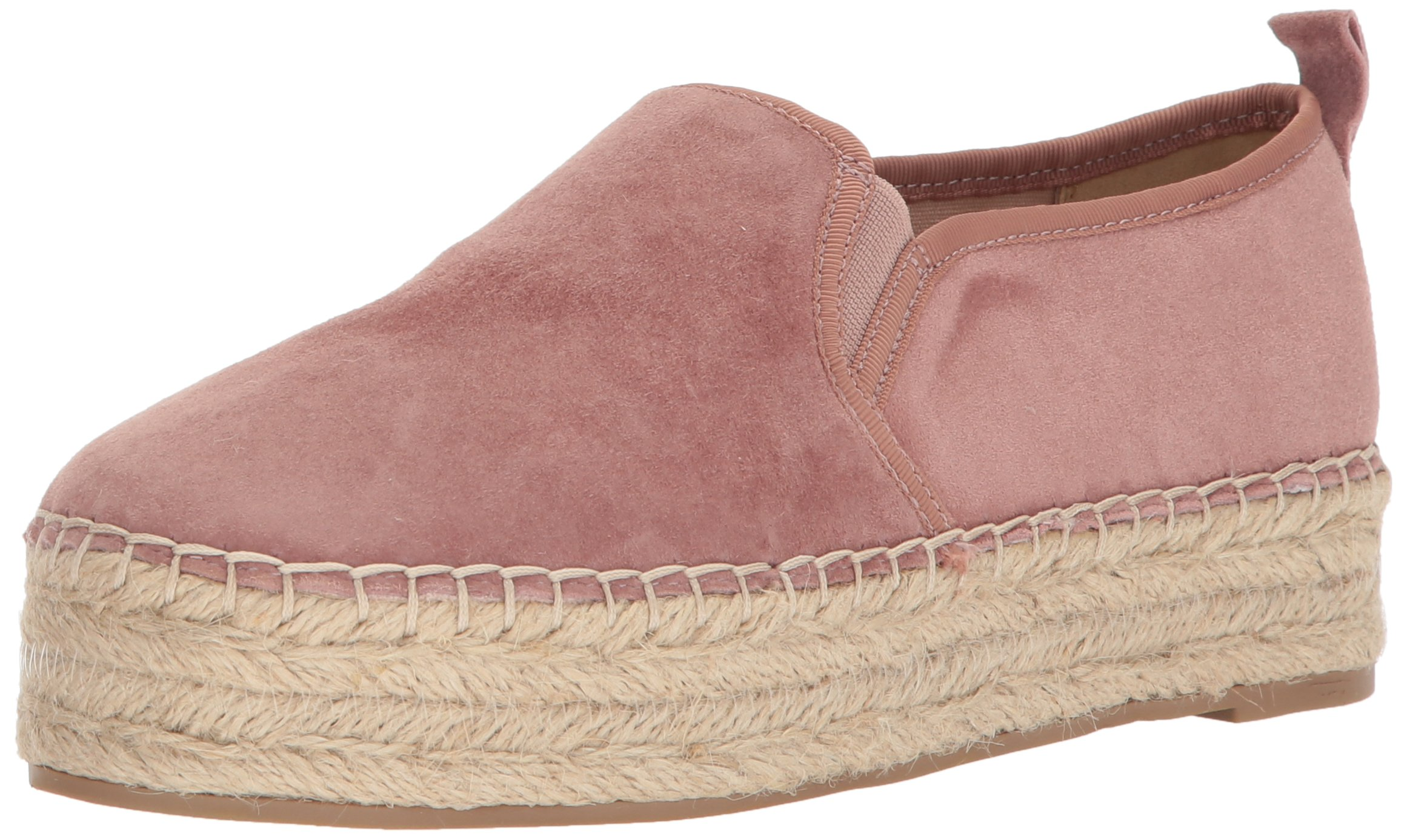 Sam Edelman Women's Carrin Platform, Dusty Rose Suede, 10 Medium US