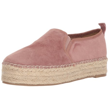 a18f990c1 Sam Edelman - Sam Edelman Women's Carrin Platform Espadrille Slip-On  Sneaker, Dusty Rose Suede, 7 Medium US - Walmart.com