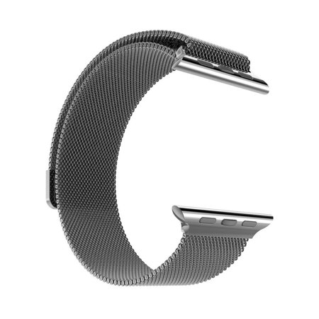 Stainless Steel Milanese Loop Replacement Band For 38Mm Apple Watches   Black
