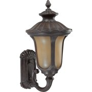 Nuvo Lighting  60/3901  Wall Sconces  Beaumont  Outdoor Lighting  Outdoor Wall Sconces  ;Fruitwood