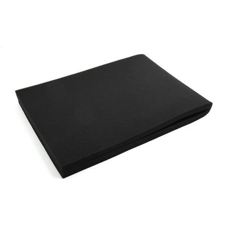 Black Rectangular Bio Absorbent Filter Sponge for Betta Aquarium 35.4