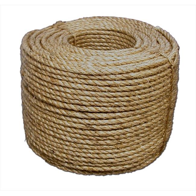 T.W. Evans Cordage 30-006 3/4 in. x 600 ft. Pure Number 1 Manila Rope