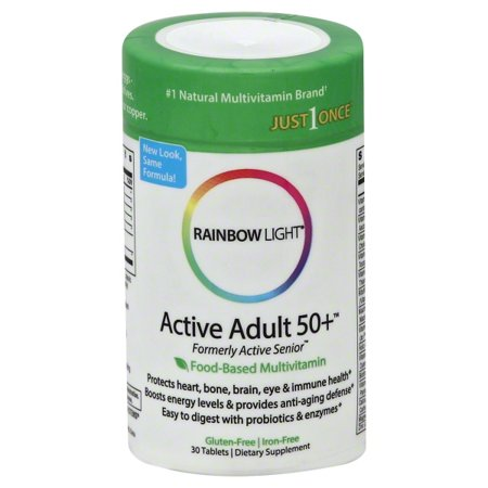 Rainbow Light Active Adult 50+™ Multivitamin 30 Tab W/CoQ10