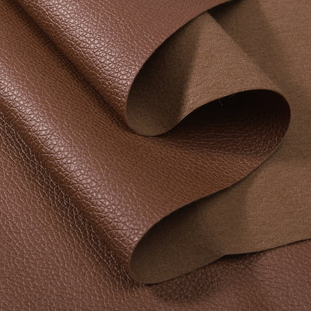 Mrosaa PU Faux Leather Fabric Car Interior Upholstery, Fabric By the Yard - Clearance