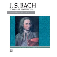 Alfred Masterwork Editions: Bach -- Two-Part Inventions (Paperback)