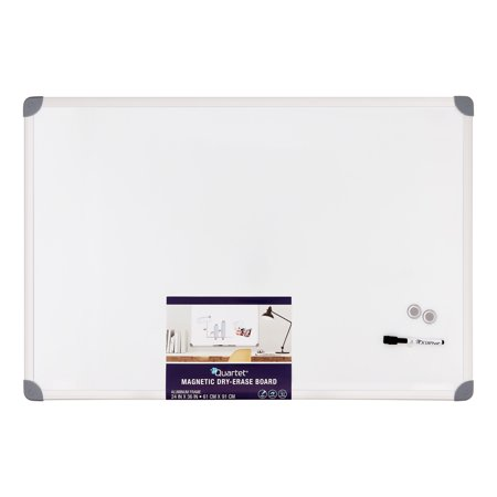Quartet Magnetic Dry-Erase Board, 2' x 3', Euro Style Frame (UKTE2436-W)